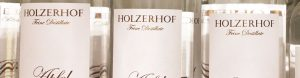 Feine Destillate vom Holzerhof auch im Onlineshop erhältlich