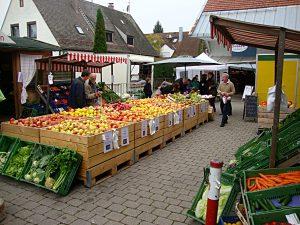 Verkauf auf dem Holzerhof