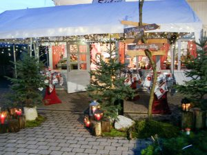 Dämmerungsstimmung im Advent