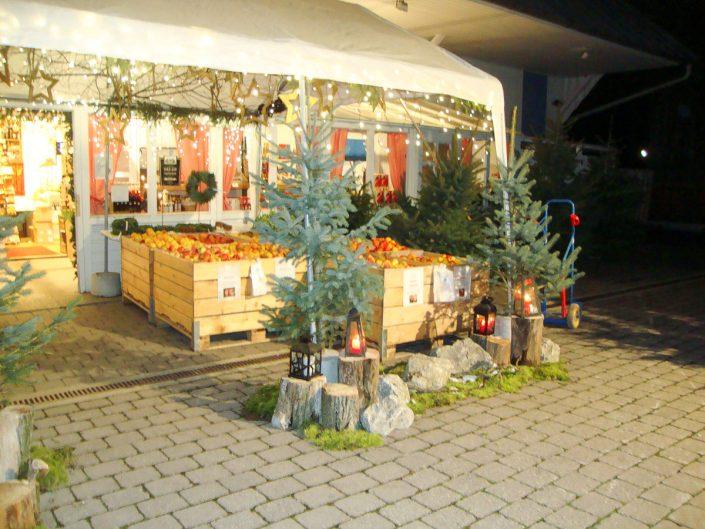 Weihnachtsstimmung auf dem Holzerhof
