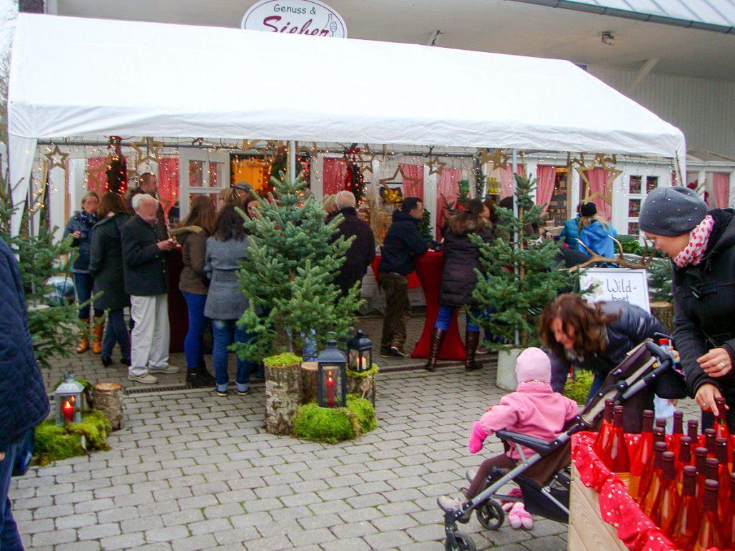 Weihnachtsstimmung beim Holzerhof